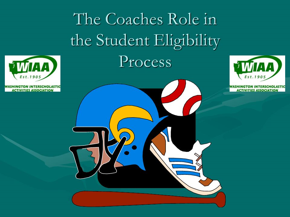 The WIAA Eligibility Packet Contact your Athletic Director or Building Administrator for the WIAA Eligibility Packet.Contact your Athletic Director or Building Administrator for the WIAA Eligibility Packet.