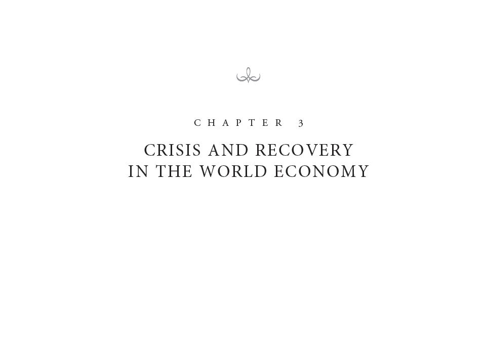 China and India did well during the crisis – Mexico, Brazil did poorly, but recovered quickly