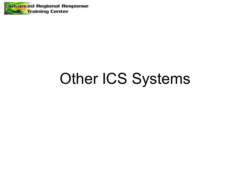 Other ICS Systems