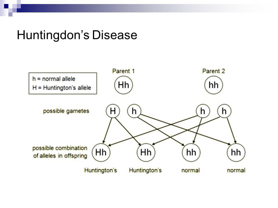 Huntingdon's Disease