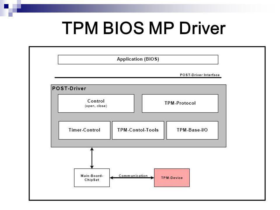 TPM BIOS MP Driver