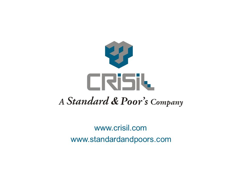 31. www.crisil.com www.standardandpoors.com
