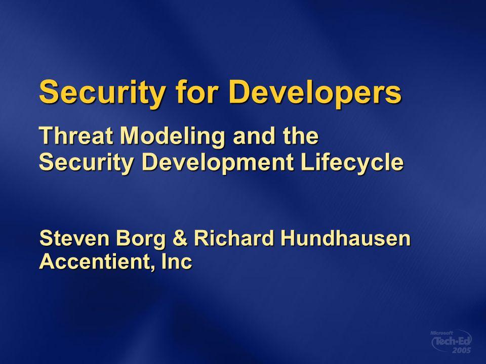 Writing Secure Code Second Edition http://www.microsoft.com/MSPress/ books/5957.asp