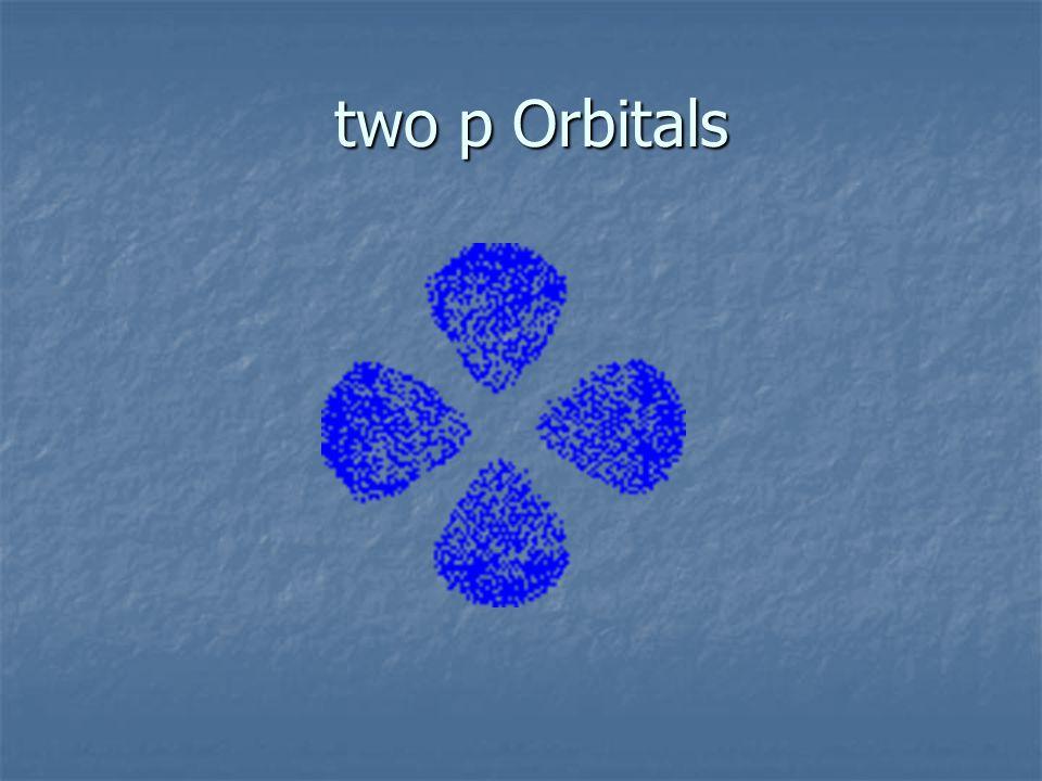 p Orbital dumbbell