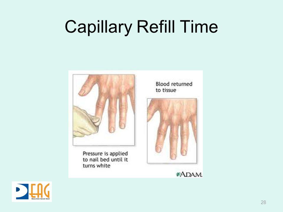 Capillary Refill Time 28