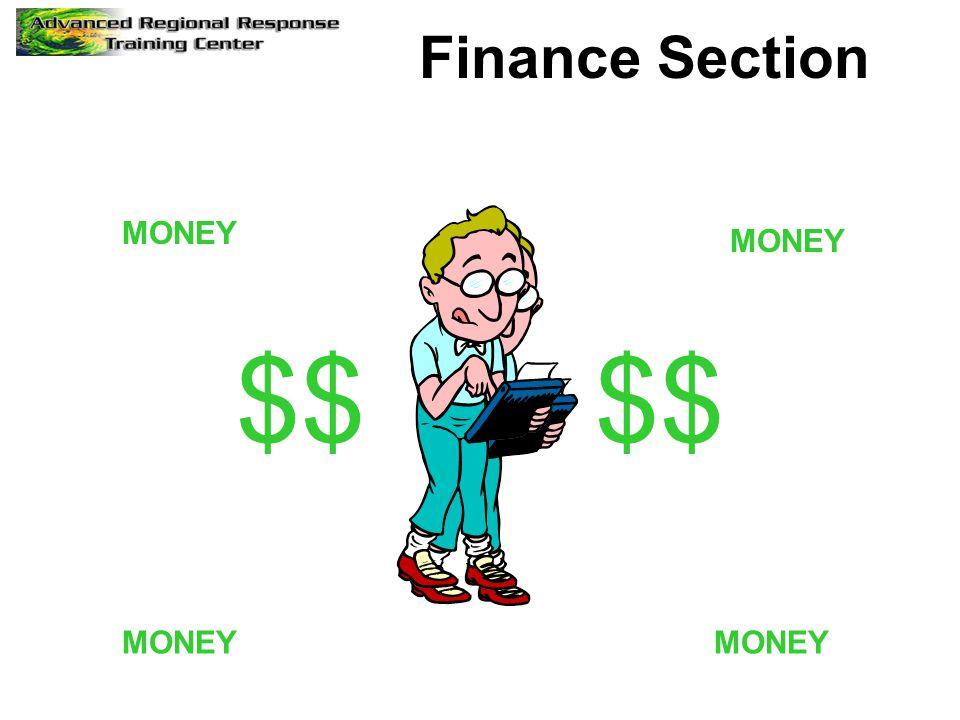 Finance Section $$ MONEY