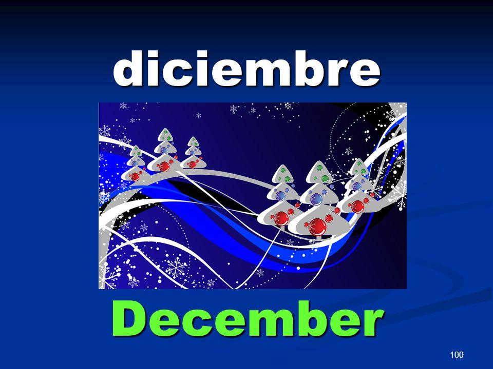 100 diciembre December