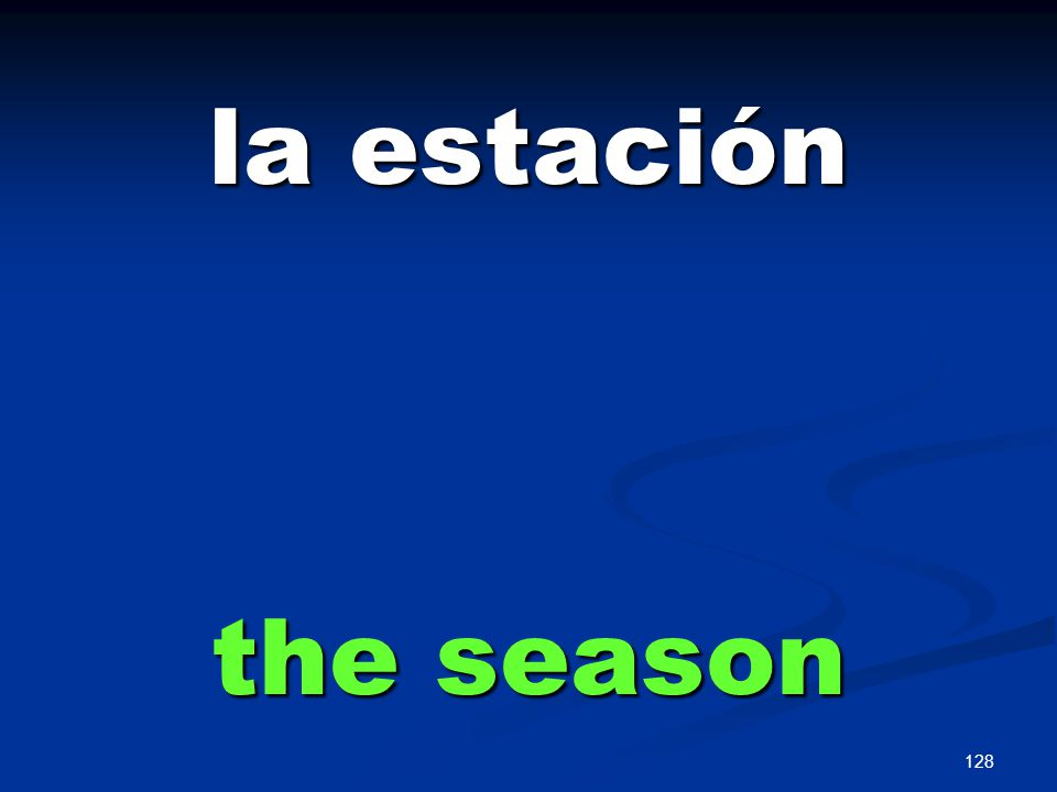 128 la estación the season