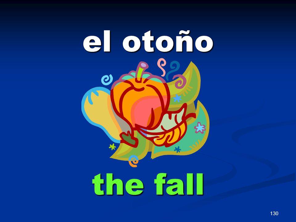 130 el otoño the fall