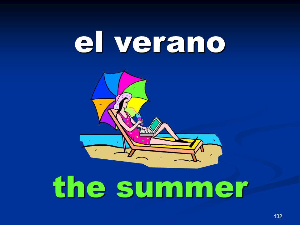 132 el verano the summer