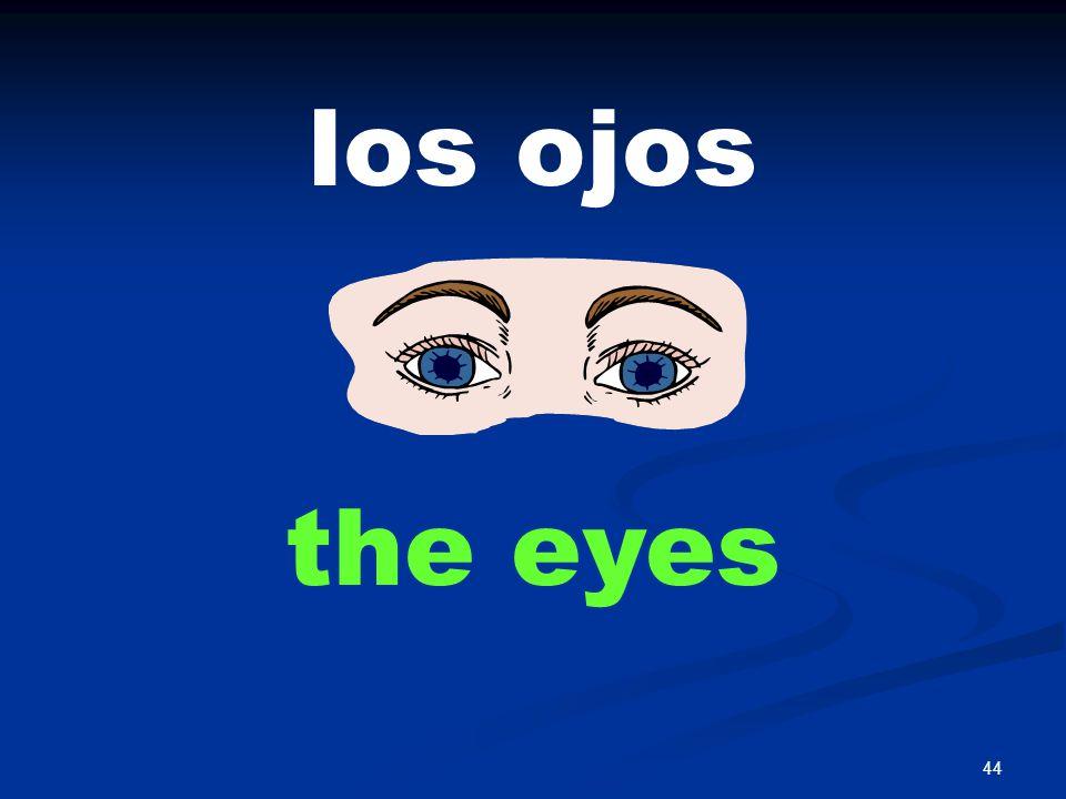 44 los ojos the eyes