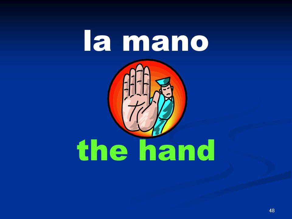 48 la mano the hand