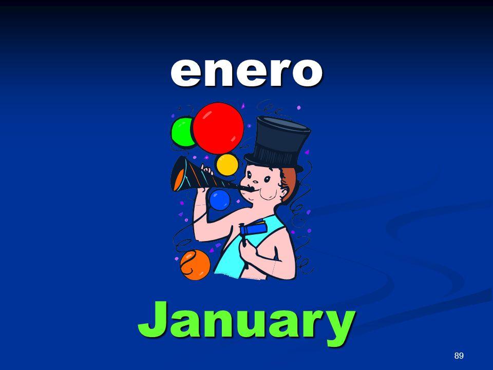 89 enero January
