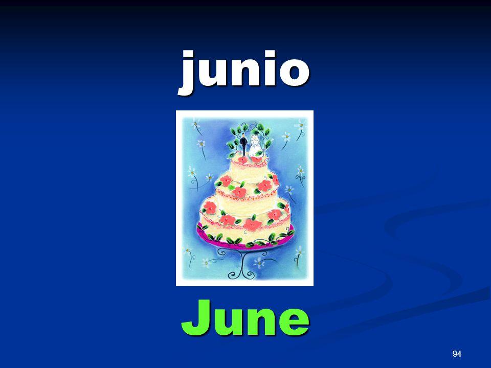 94 junio June
