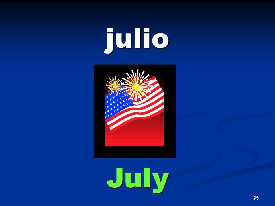 95 julio July
