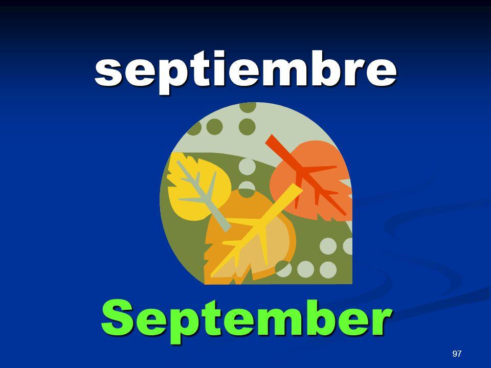 97 septiembre September