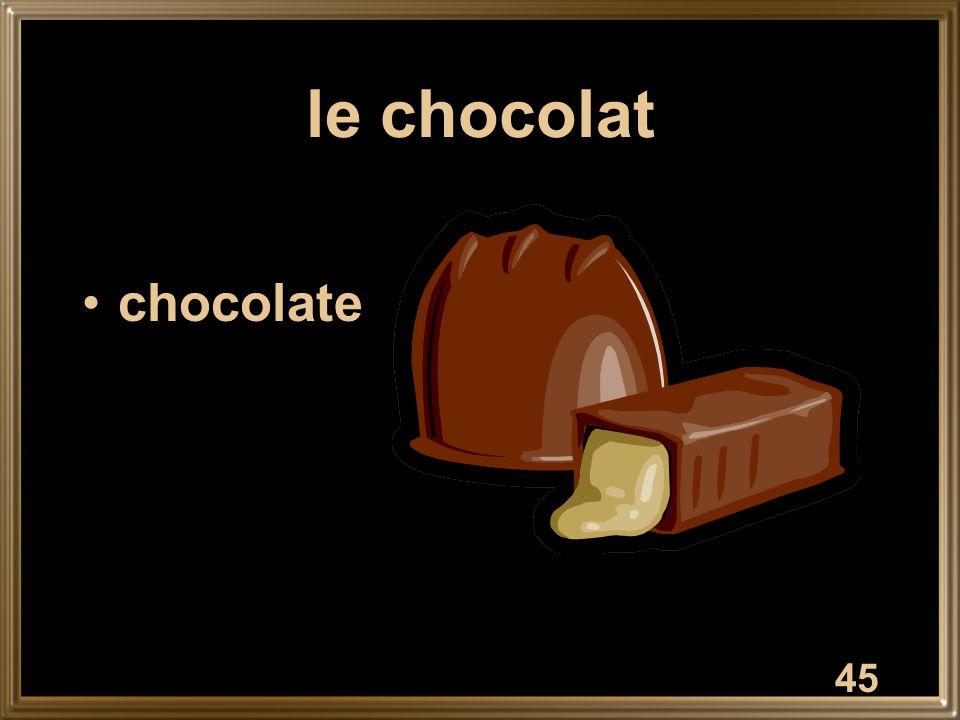 le chocolat chocolate 45