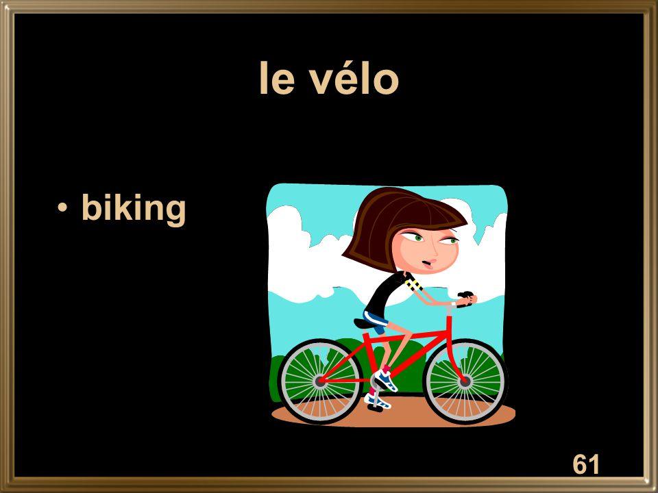 le vélo biking 61