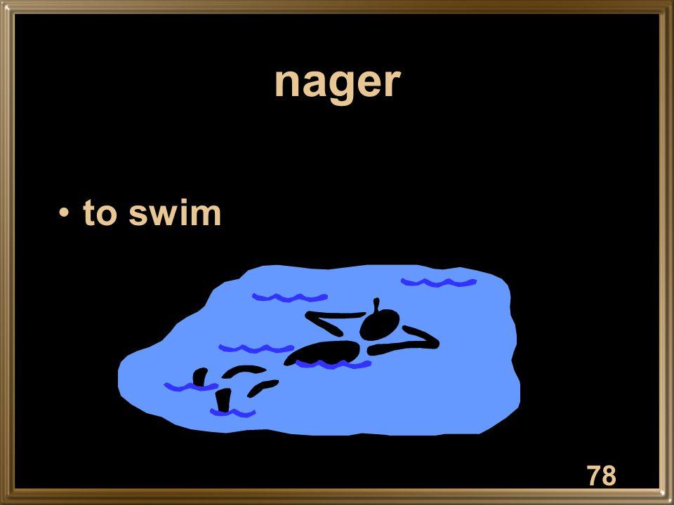 nager to swim 78
