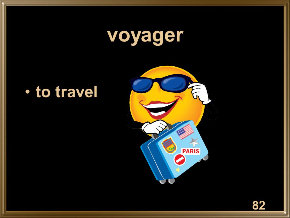 voyager to travel 82