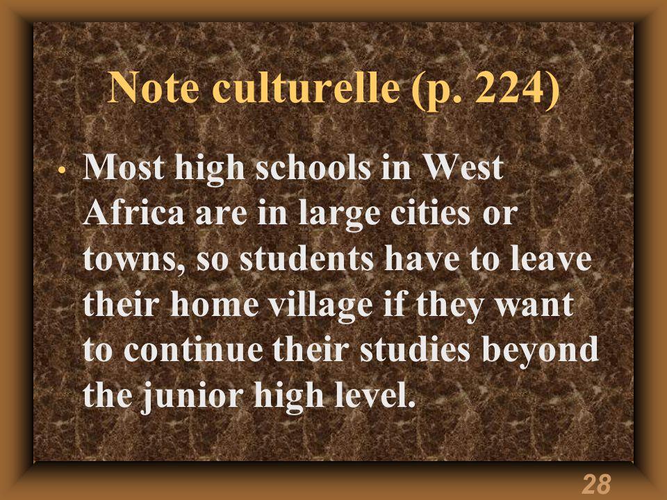 28 Note culturelle (p.