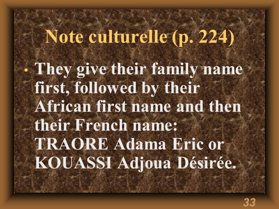 33 Note culturelle (p.