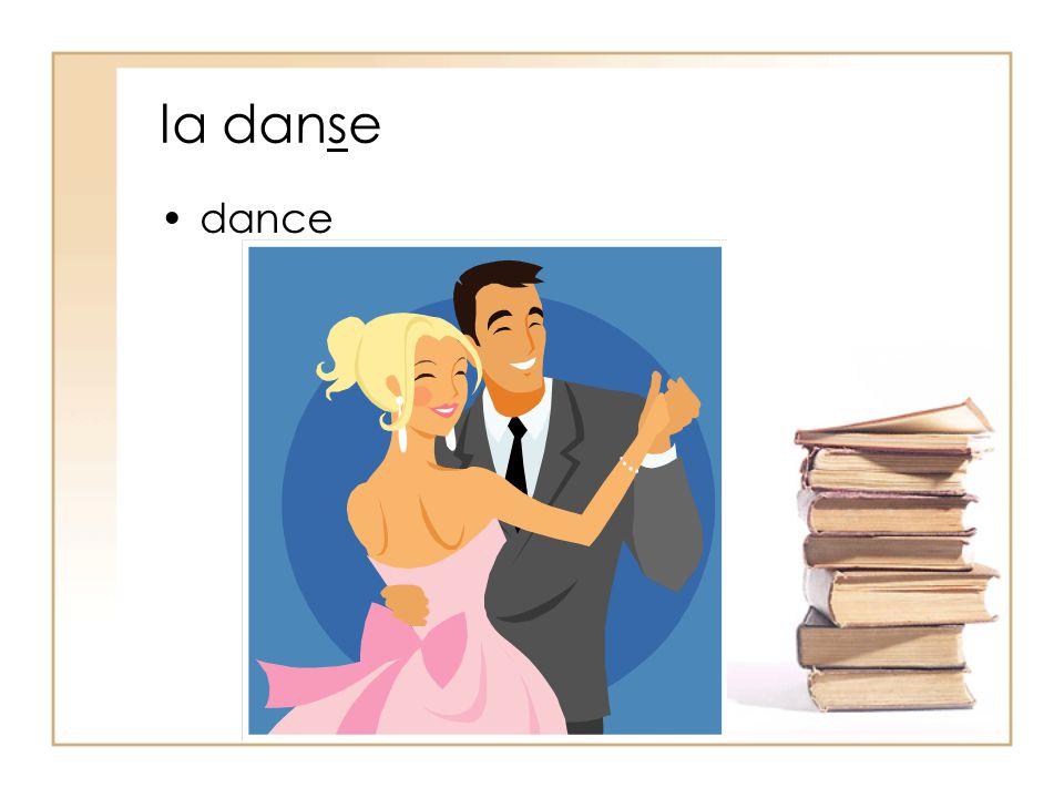la danse dance