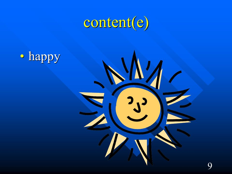 9 content(e) happyhappy