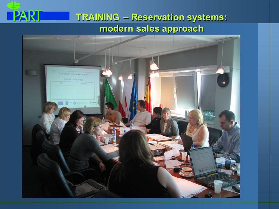 TRAINING – Reservation systems: modern sales approach