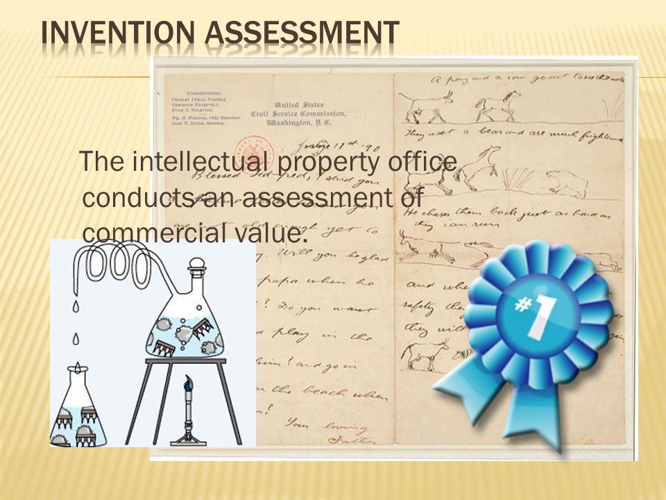 The employee submits an invention disclosure to the intellectual property office within his organization.