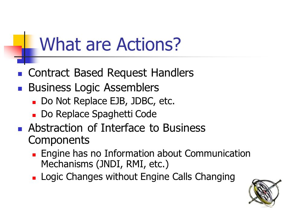 What are Actions.