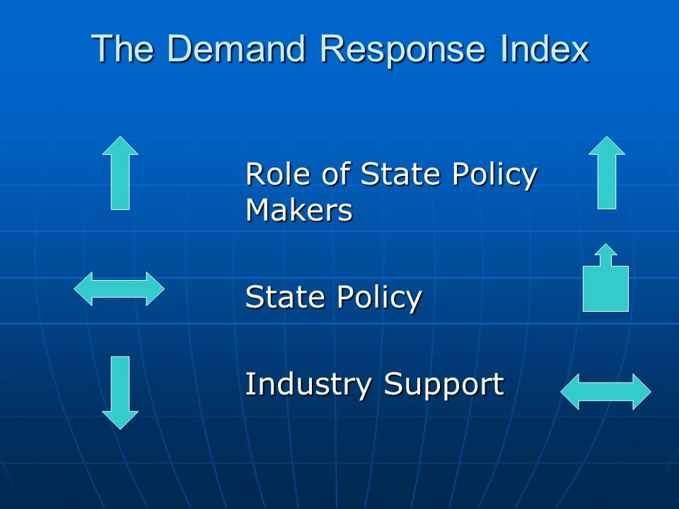 Demand Response Index EPACT 1252 1252
