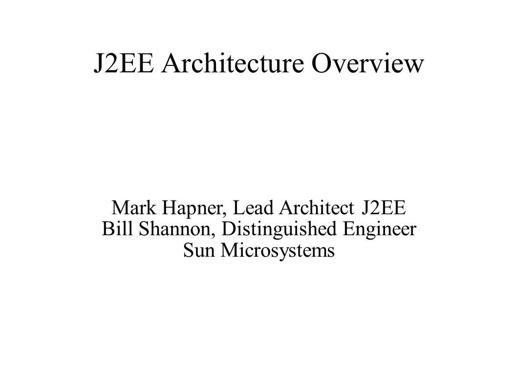 J2EE 1.3 (JSR 58)