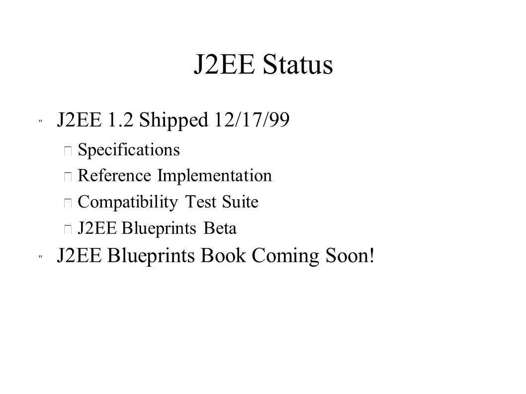 J2EE Status