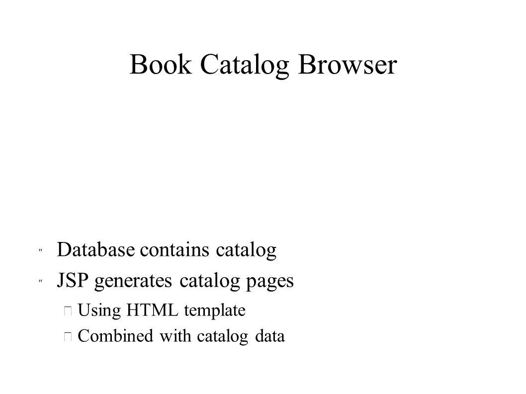 Book Catalog Browser