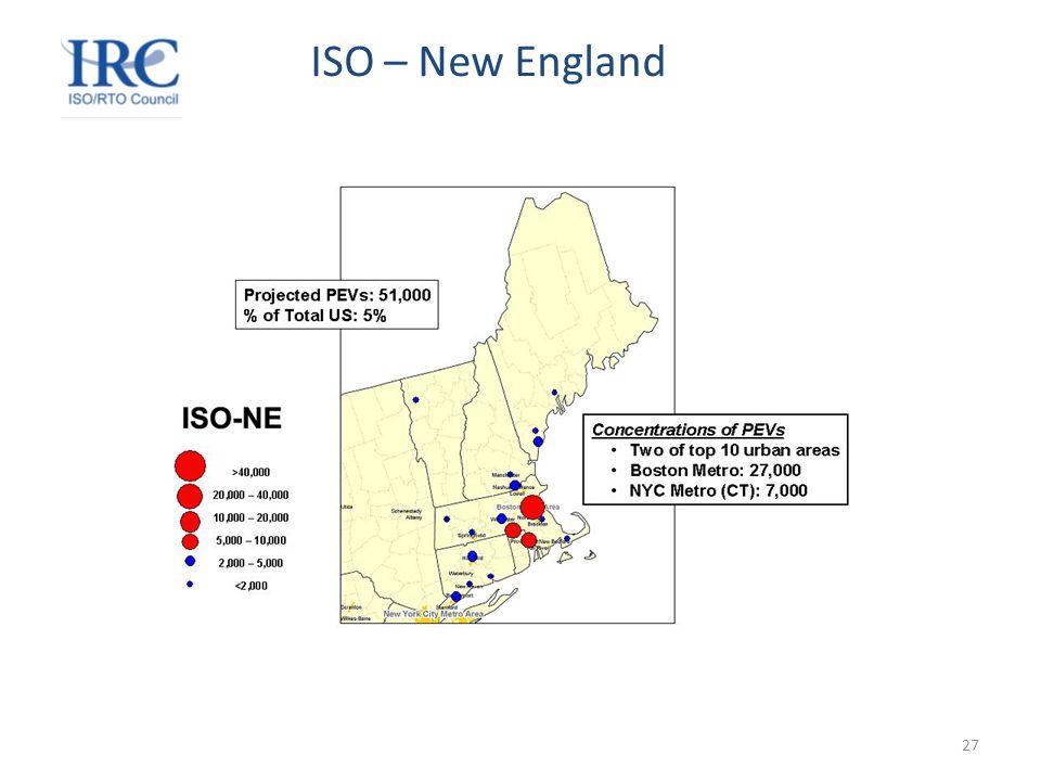 27 ISO – New England