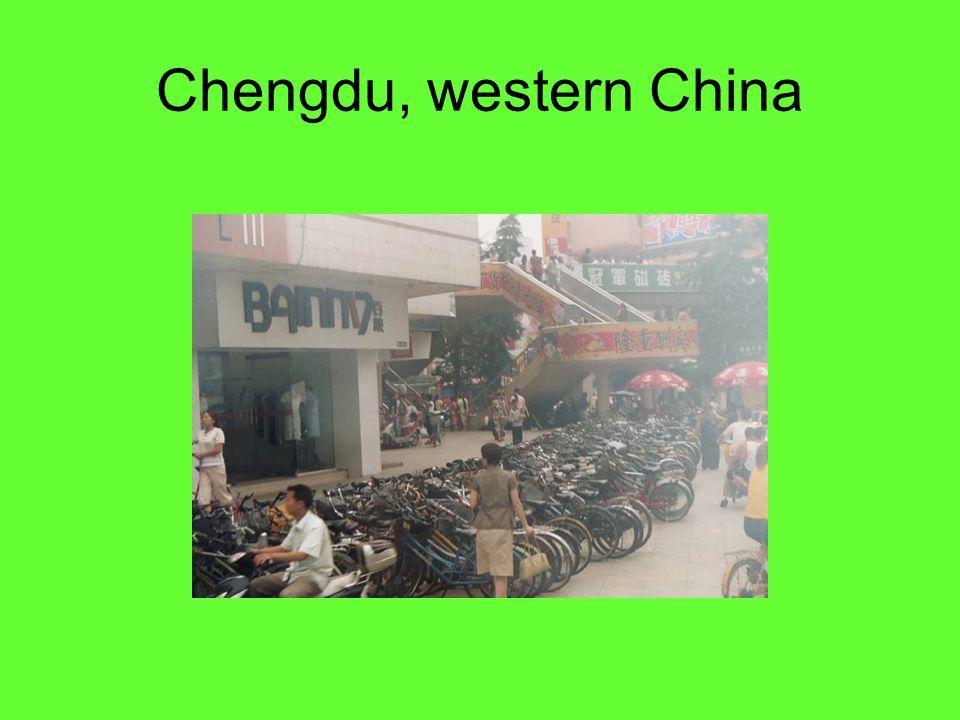 Chengdu, western China