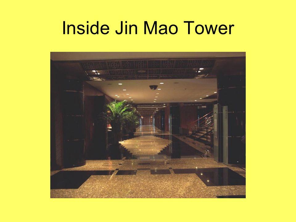 Inside Jin Mao Tower