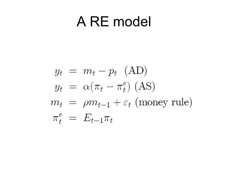 A RE model