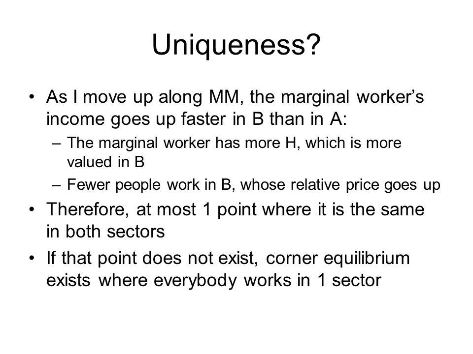 Uniqueness.