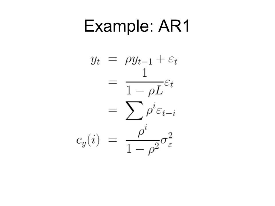 Example: AR1