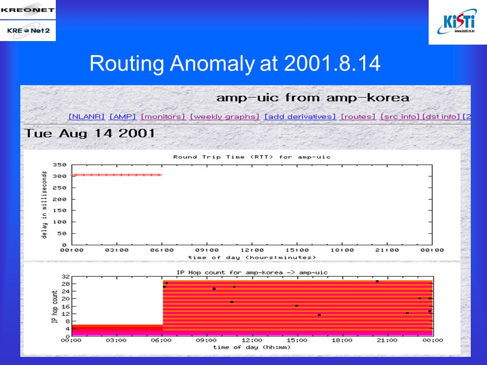 Routing Anomaly at 2001.8.14