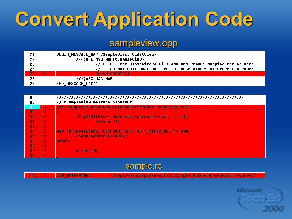 sample.rc sampleview.cpp