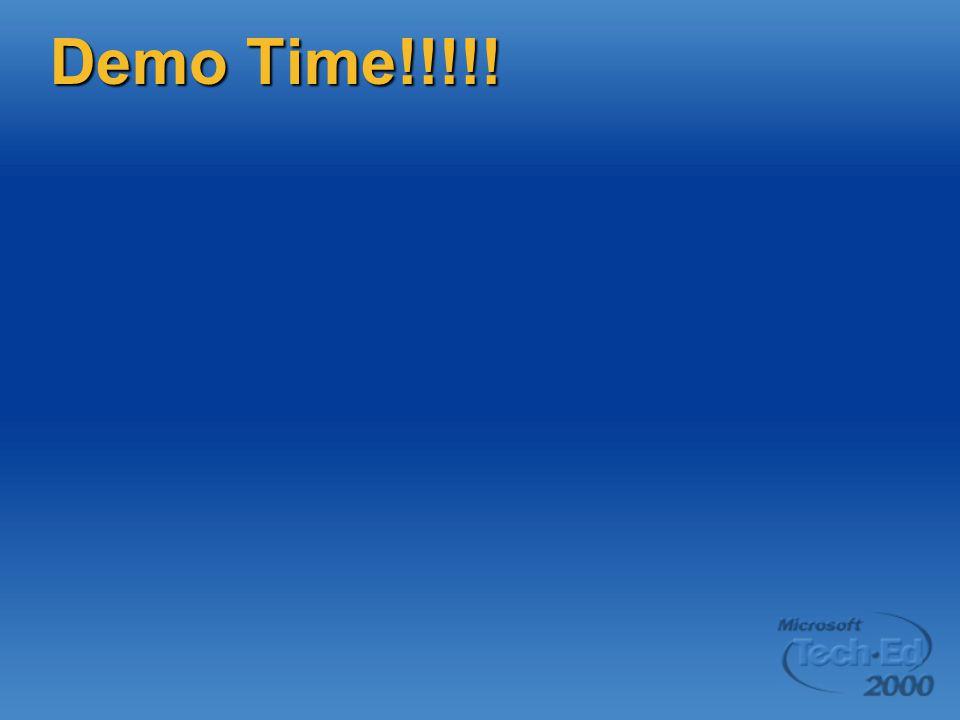 Demo Time!!!!!