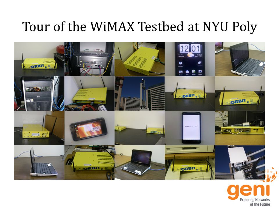 Tour of the WiMAX Testbed at NYU Poly
