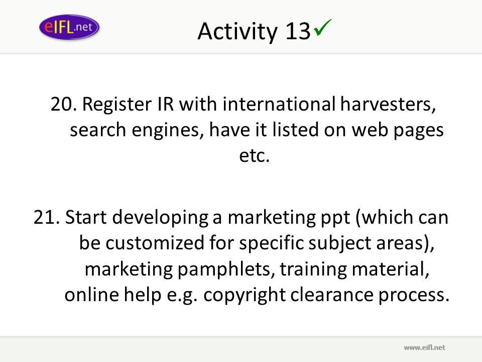 Activity 13 20.