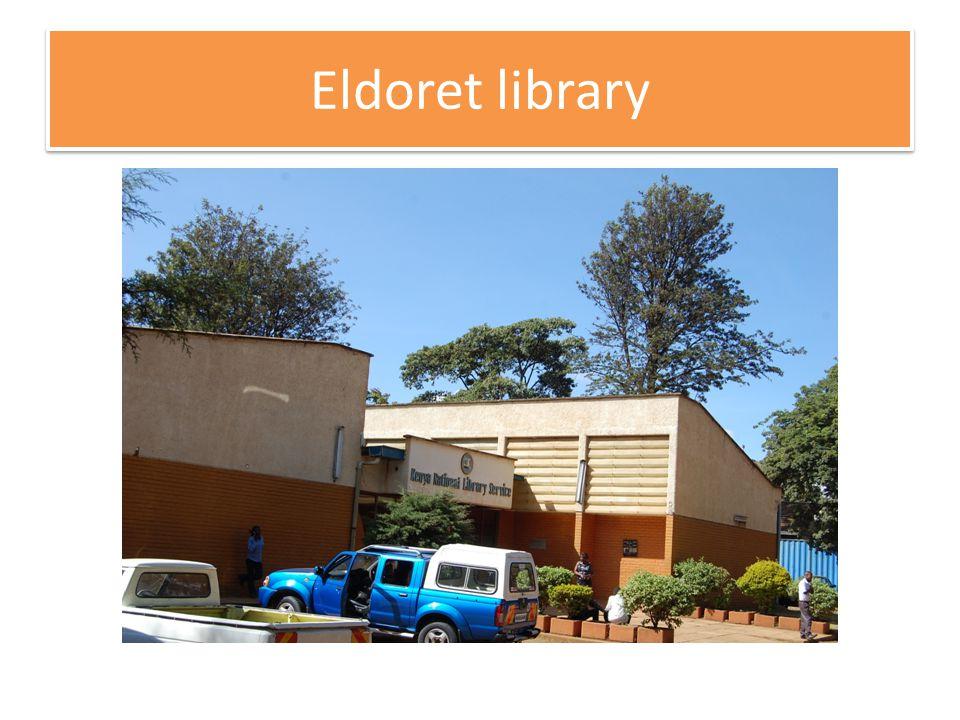 Eldoret library