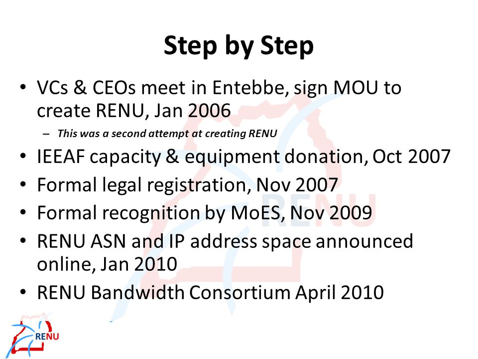 A Brief Overview of RENU