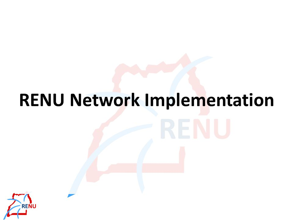 RENU services Provide dedicated high-speed physical network – Operations and maintenance Provide Internet access – Other NRENs vs.