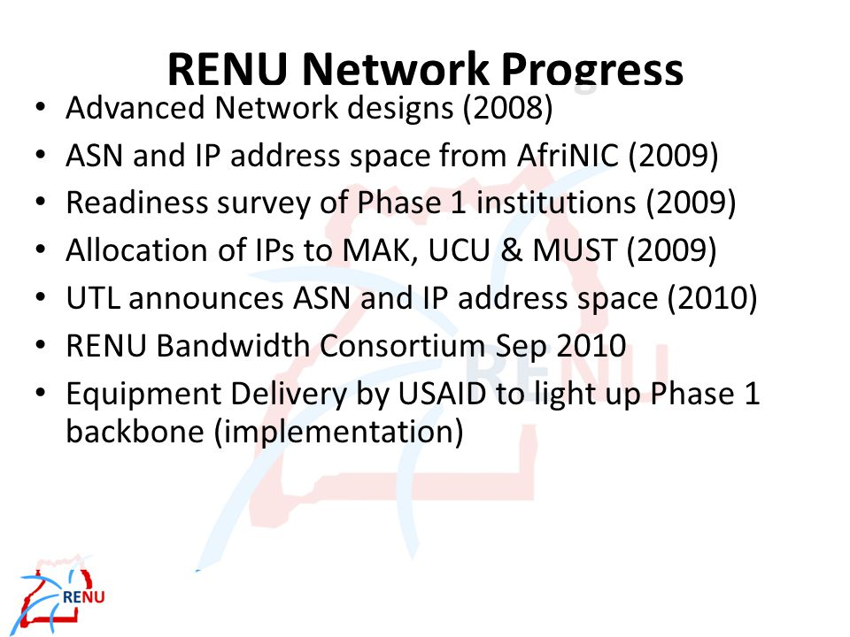 Network Ownership Models Purchase capacity From providers between two or more points Purchase managed services Lease dedicated channel, all equipment is owned by provider Lease infrastructure Lease existing unused infrastructure from provider, buy own transmission equipment Build own infrastructure